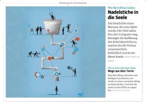 Lesenswerter Beitrag über Mobbing am Arbeitsplatz in der Süddeutschen Zeitung vom 10. Juli 2013